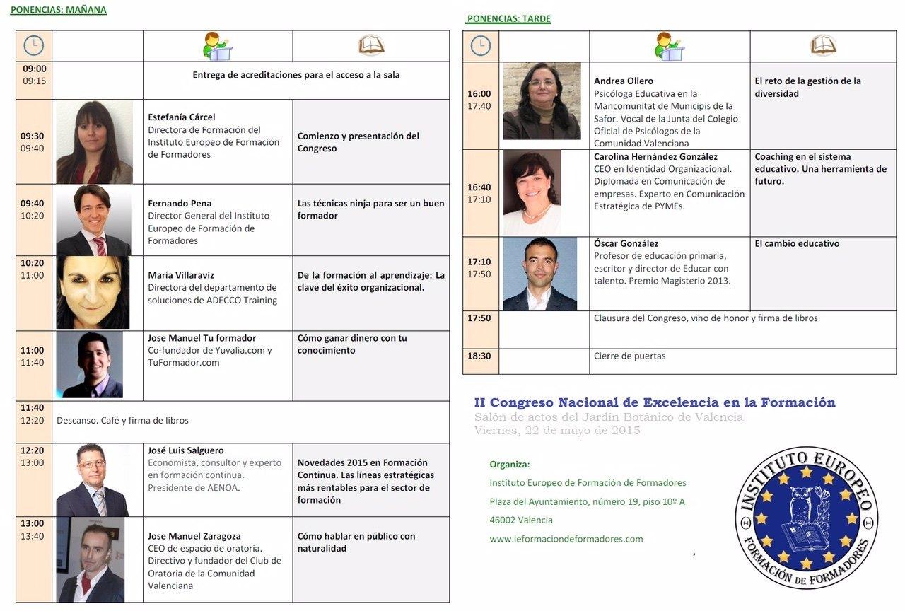 II Congreso Nacional de Excelencia en la Formación