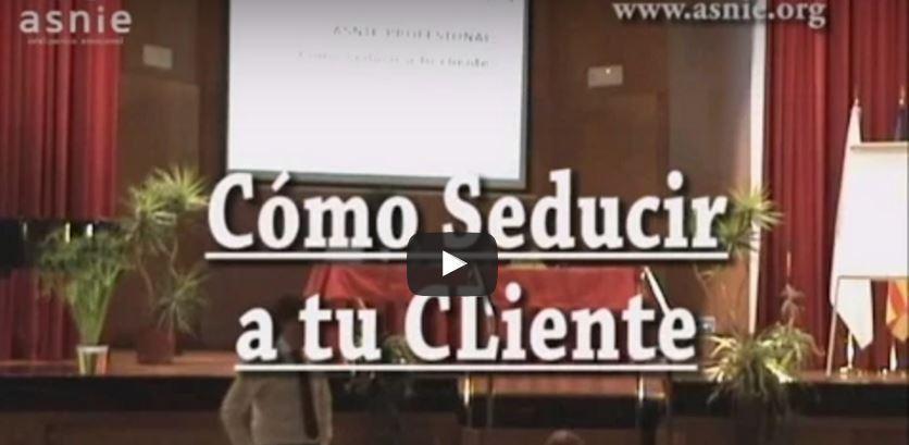 Conferencia de Fernando Pena. Cómo seducir a tu cliente
