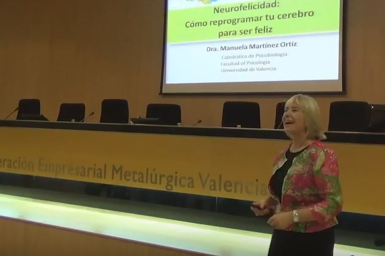Conferencia de Manuela Martínez: Neurofelicidad