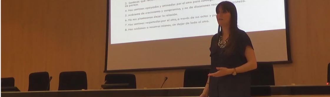Vídeo de la conferencia de Estefanía Cárcel: Amor o dependencia emocional