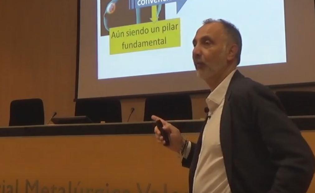 Vídeo de la conferencia de Juan Serrano: