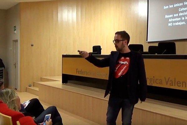 Vídeo de la conferencia de David Asensio García: Liderazgo Canalla