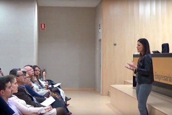 """Vídeo de la Conferencia de María López: """"Como motivarse en el trabajo. Técnicas de Inteligencia Emocional"""""""