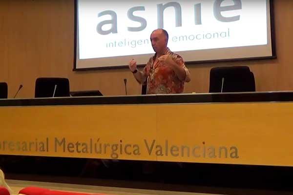 Vídeo de la conferencia de Bernardo Ortín: Cuentos e inteligencia emocional