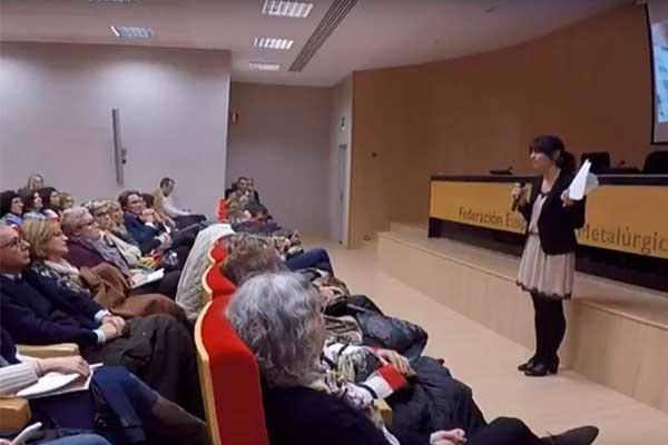 Vídeo de la conferencia de Inma Tuset. Cómo establecer vínculos afectivos saludables desde la inteligencia emocional