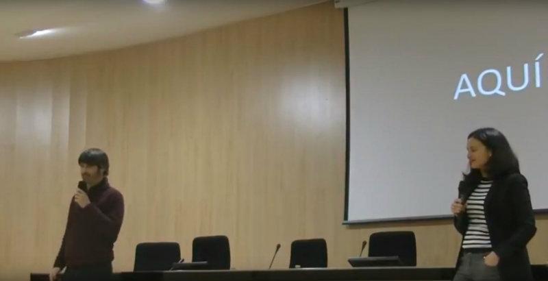 Vídeo de la conferencia: Conviértete en el Director General de ti mismo por Esther Navarro yArnau Benlloch