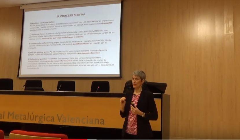 Vídeo de la conferencia: Inteligencia Consciente. Por Irina de la Flor.