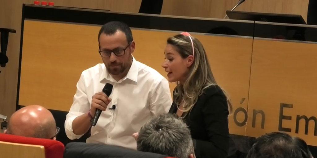 """Vídeo de la conferencia """"La vida es venta y emociones"""" Conferencia de Miguel Ángel Díaz e Inés Torremocha"""